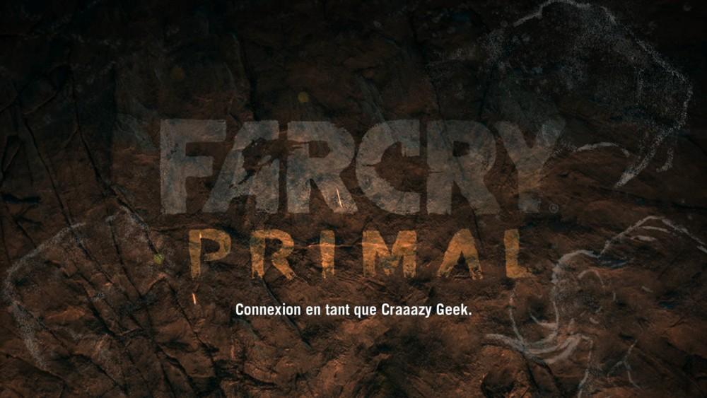 Far Cry Primal écran titre