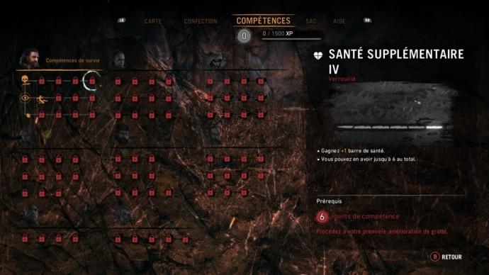L'arbre de compétences de Far Cry Primal