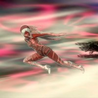 Gravity Rush Remastered - Kat en action