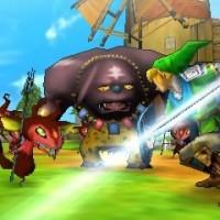 Attaque de Link dans Hyrule Warriors: Legends