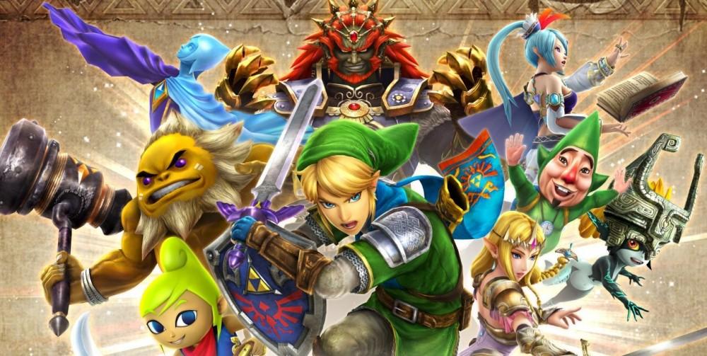 La jaquette d'Hyrule Warriors: Legends