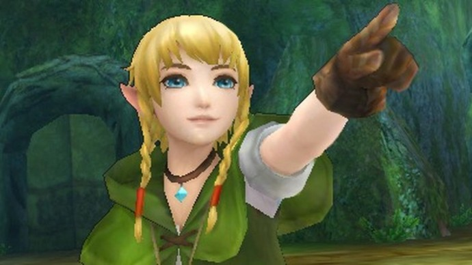 Linkle dans Hyrule Warriors: Lengeds