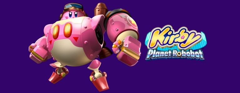Kirby Planet Robobot Logo