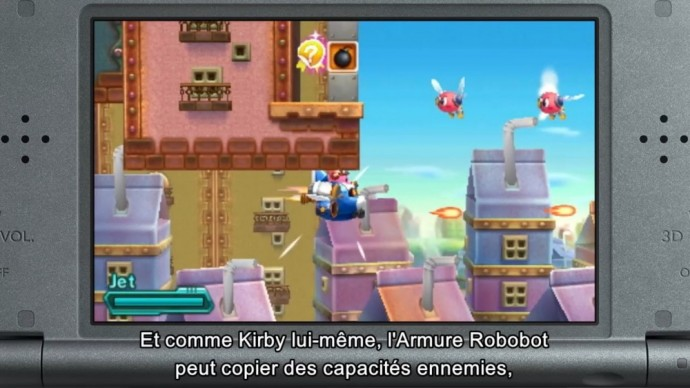 Kirby Planet Robobot Gameplay Robot