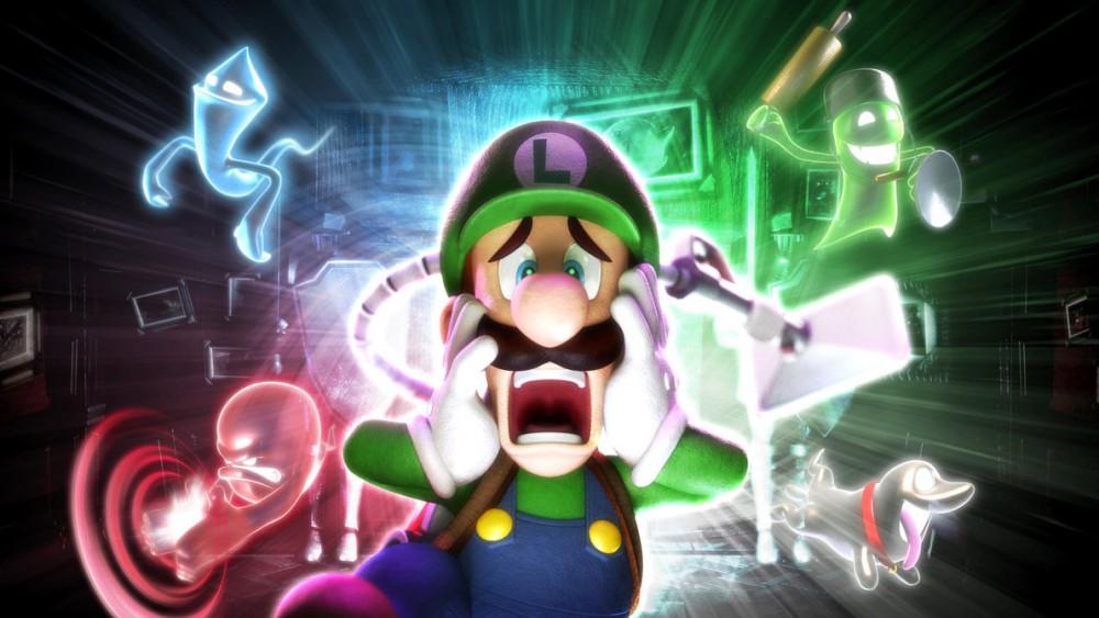 Luigi et les fantômes