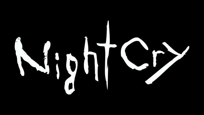 NightCry logo sur fond noir