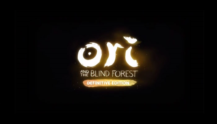Ori and the Blind Forest Definitive Edition Logo sur fond noir