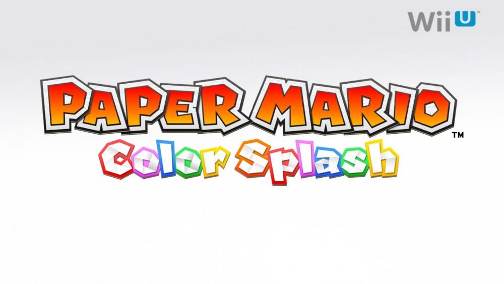 Paper Mario Color Splash logo