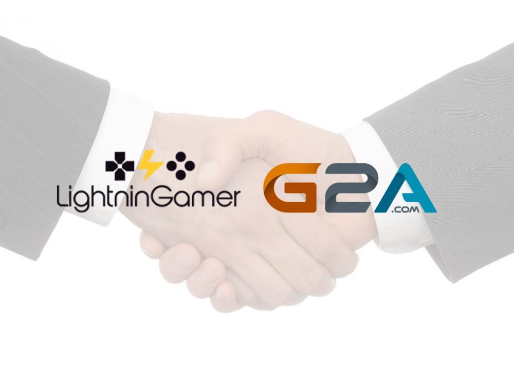 Partenariat LightninGamer-G2A