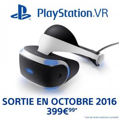 Date et prix PlayStation VR