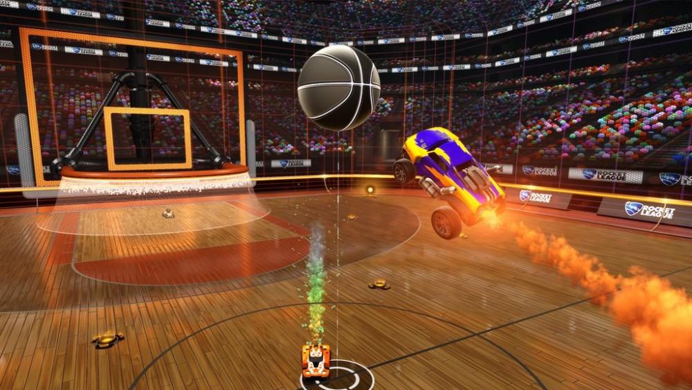 Rocket League mode basket