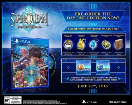 STAR OCEAN: Integrity and Faithlessness Bonus Day One