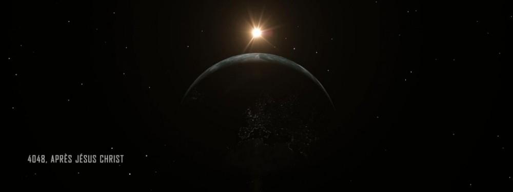 Singularity Event planète horizon