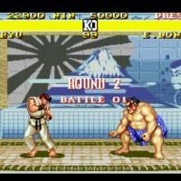 Le combat entre Ryu et Honda va commencer