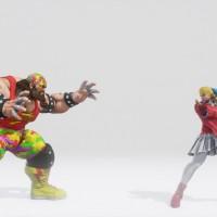 Street Fighter V costume alternatif Karin et Zangief