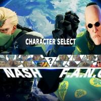 Street Fighter V costume alternatif Nash et Fang