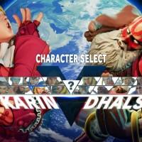Street Fighter V costume alternatif Karin et Dhalsim