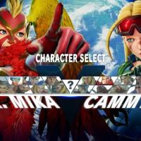 Street Fighter V costume alternatif R. Mika et Cammy