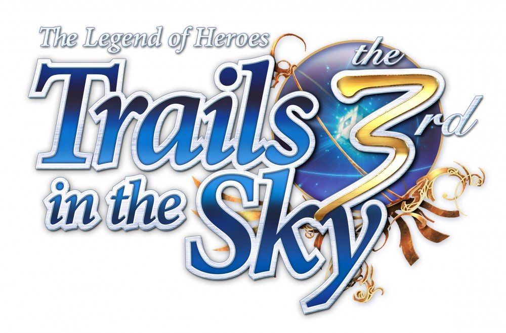 The Legend of Heroes: Trails in the Sky 3 Logo sur fond blanc