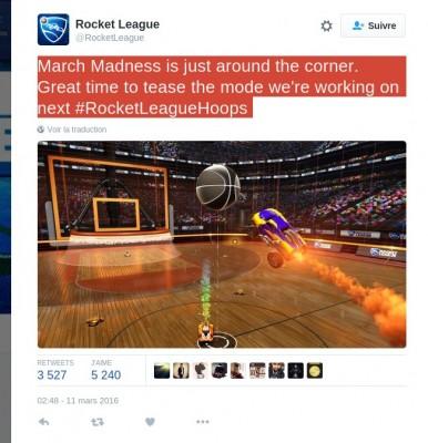 Tweet Rocket League
