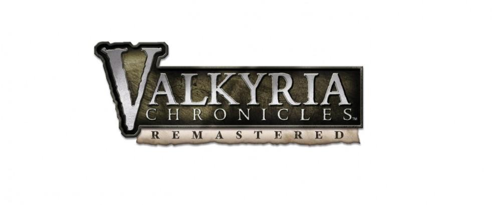 Valkyria Chronicles Remastered Logo sur fond blanc