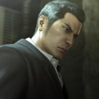 Yakuza 0 gros plan sur le visage de Kazuma