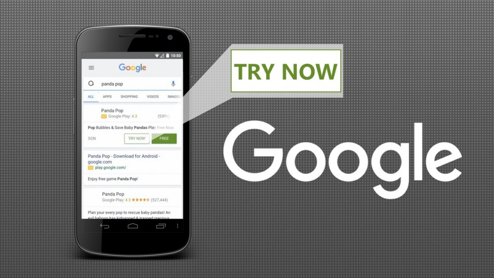 Android try now