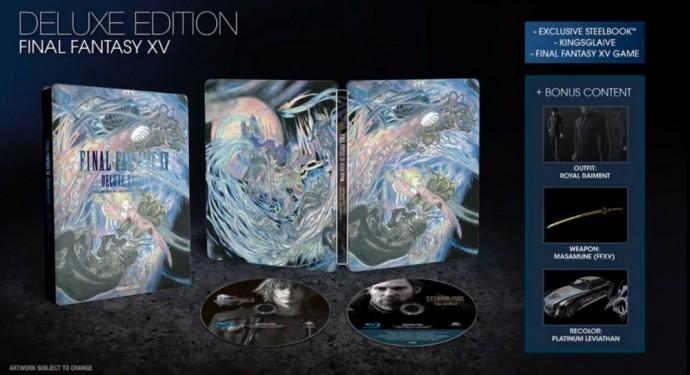 La Deluxe Edition de Final Fantasy XV