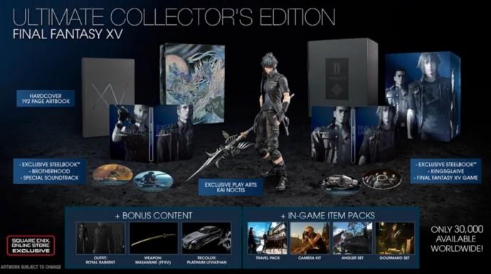 L'Ultimate Edition de Final Fantasy XV