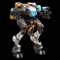 Le char Hannibal Scorpion dans Halo 5: Guardians - Ghosts of Meridian