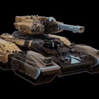 Le robot Hannibal Mantis dans Halo 5: Guardians - Ghosts of Meridian