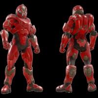 L'armure Dynast dans Halo 5: Guardians - Ghosts of Meridian