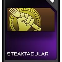 L'emblème Steaktacular dans Halo 5: Guardians - Ghosts of Meridian