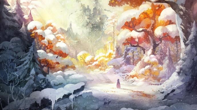 I am Setsuna splendide fresque