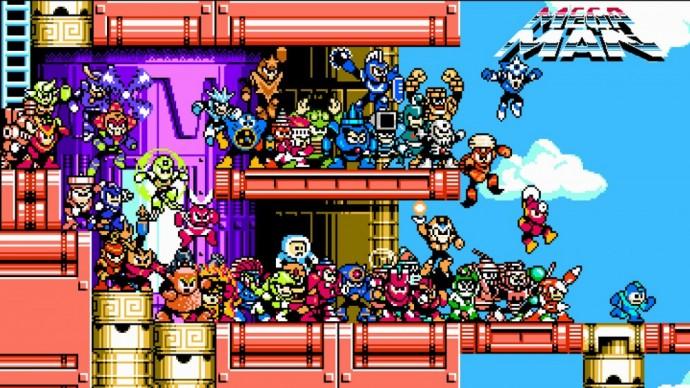 Mega Man Legacy Collection tous les boss réunis