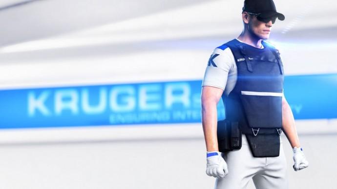 Un agent de la KrugerSec dans Mirror's Edge Catalyst