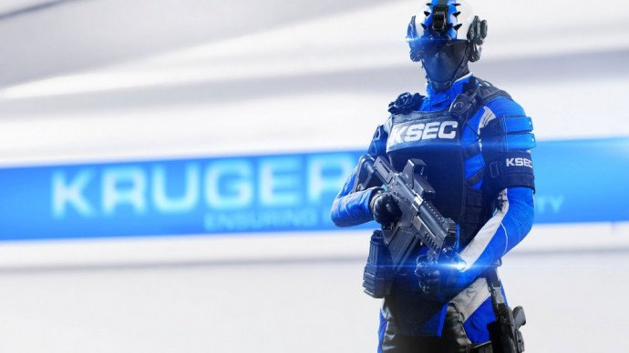 Un agent tactique de la KrugerSec dans Mirror's Edge Catalyst