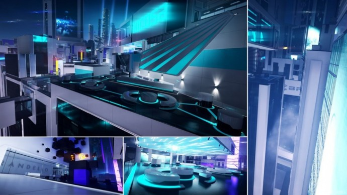 Le quartier d'Anchor dans Mirror's Edge Catalyst