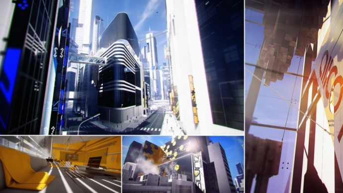 Le Donwtown dans Mirror's Edge Catalyst