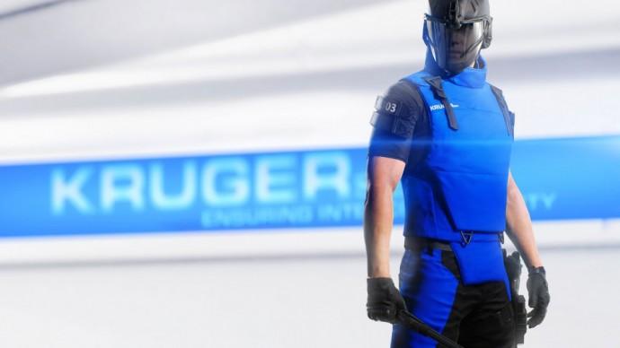 Un Protecteur de la KrugerSec dans Mirror's Edge Catalyst