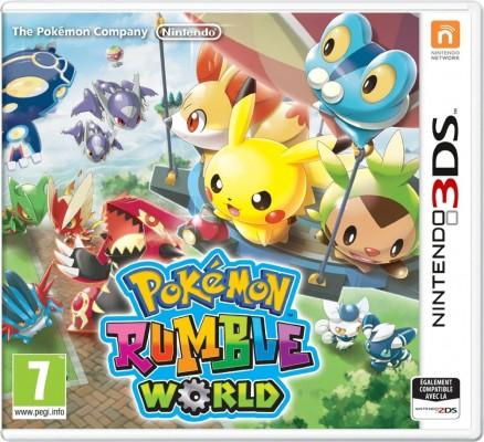 La version boite de Pokémon Rumble World