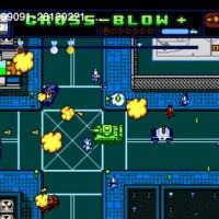 Retro City Rampage scène de combat urbain