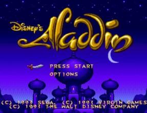 Jeu de légende : Aladdin