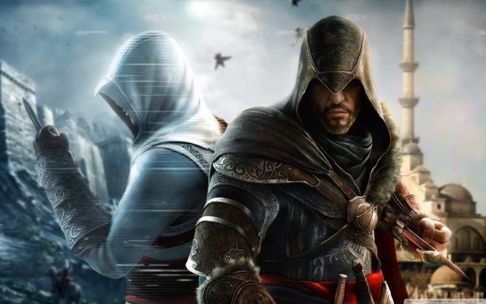 Ezio et Altair dans Assassin's Creed Revelation