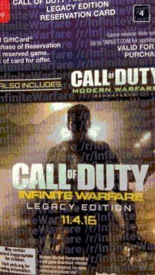 Capture d'écran Snapchat de Call of Duty: Infinite Warfare