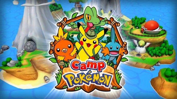 L'application Camp Pokémon pour les enfants, grands ou petits