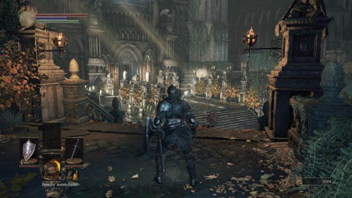 Dark Souls 3 - morteflamme en marche
