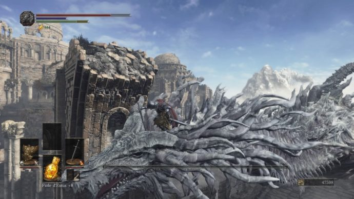dragon dark souls 3