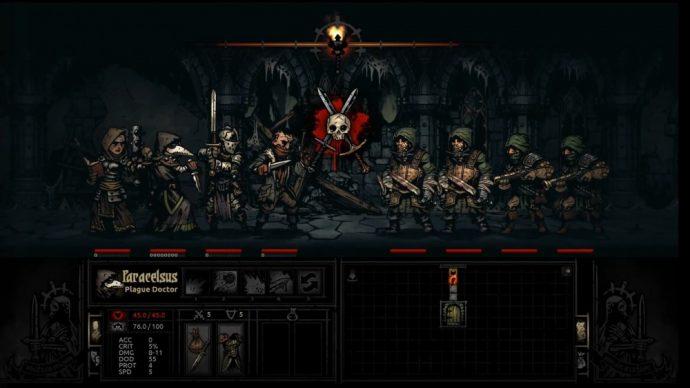 Gameplay du jeu Darkest Dungeon