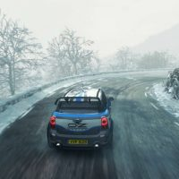DiRT Rally route glissante